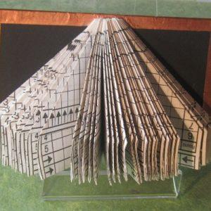 """""""Copper Triangle"""" Altered Book"""