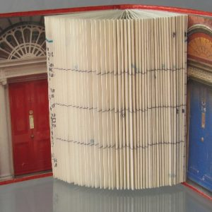 """Dublin Doors"" Altered Book"