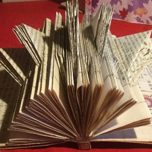 """""""Japanese with Stamp"""" Altered Book"""