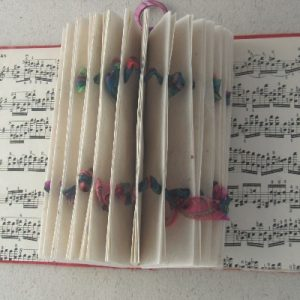 """""""Music"""" Altered Book"""