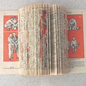 """First Aid"" Altered Book"