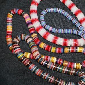 Modern Button Necklaces
