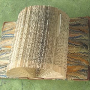 """Naomi"" Altered Book"
