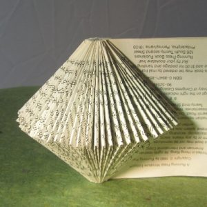 """On Edge"" Altered Book"