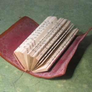 """Stevenson's Prayers"" Altered Book"